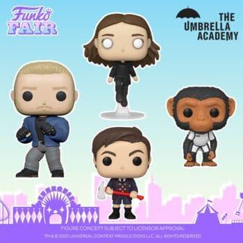 The Umbrella Academy Season 2 Pops Announced at Funko Fair