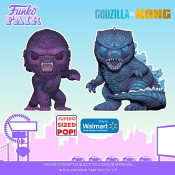 Funko Announces Full Wave of Godzilla Vs Kong Pops