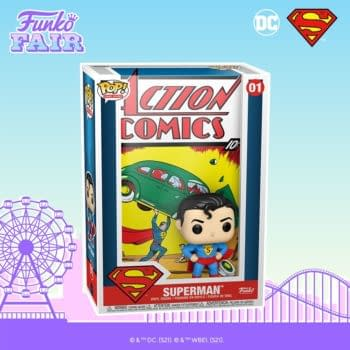Funko Debuts New Comic Cover Pops With Action Comics #1