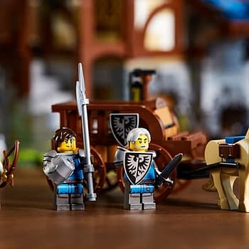 Medieval LEGO Knights Return with New LEGO Ideas Blacksmith Set