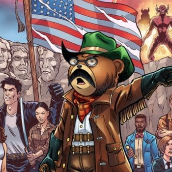 In Teddy We Trust #1 - Free Comic, Just Leave Me A Review