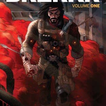 Keanu Reeves' BZRKR Graphic Novel In Shops For October