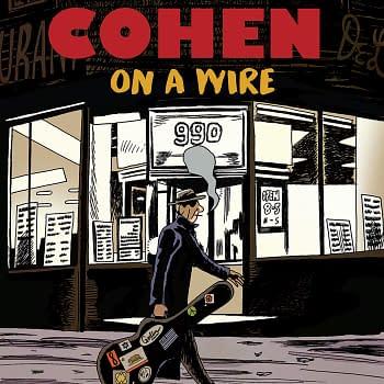 Leonard Cohen: On A Wire Hardcover – November 9, 2021