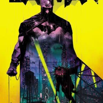Simon Saint, the Man Behind Future State Magistrate, in Batman #106