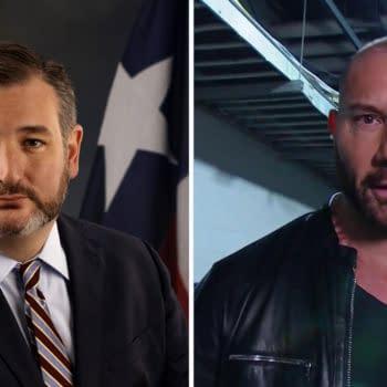 Dave Bautista has no love for Texas Senator Ted Cruz