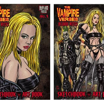 The Return Of The Black And White Indie Vampire Comic