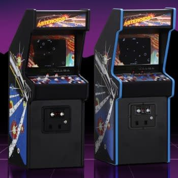 New Wave Toys Announces The Launch Of Asteroids X RepliCade Cabinet