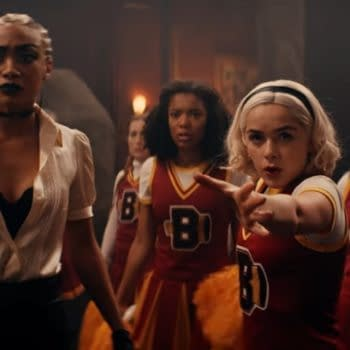 Chilling Adventures of Sabrina posted bloopers from Parts 3 & 4. (Image: Netflix screencap)