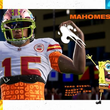 SpongeBob SquarePants Has Been Added To Madden NFL 21