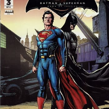Obscure Comics: General Mills Presents Batman V Superman #3 &#038 Blippar