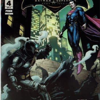 Batman V Superman #4 Cover
