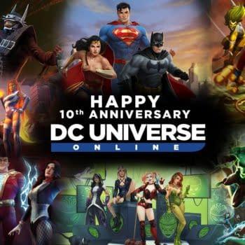 DC Universe Online Celebrates Its Tenth Anniversary