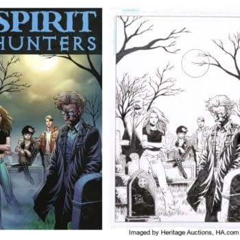 You Can Own Original Cover Art to Spirit Hunters #3 by Renato Rei