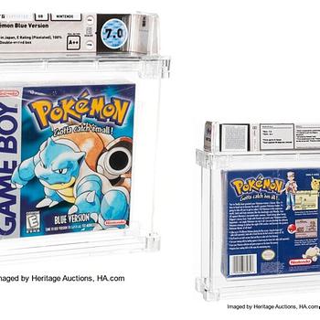 Pure Pokémon Nostalgia As Sealed Blue Version Hits Auction