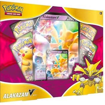 Pokémon TCG Alakazam V Box Review: New January 2021 Release