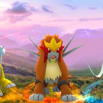 Entei, Suicune, & Raikou Return to Raids in Pokémon GO
