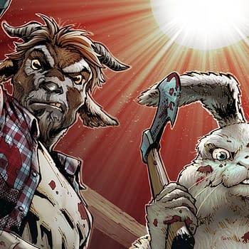 Zenescope Creators On New Comedy Comic Man Goat &#038 the Bunny Man