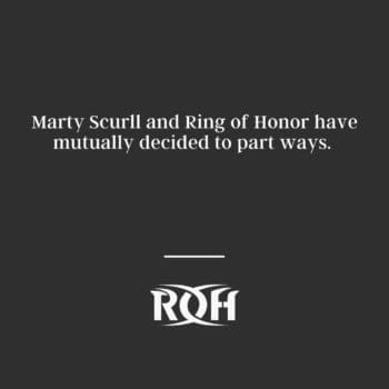 The official statement from Ring of Honor on Marty Scurll