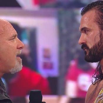 WWE Botches Ending of Raw as Goldberg Challenges Drew McIntyre