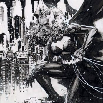Jim Lee Draws Ryan Wilder Batwoman For Comci Shop Charity