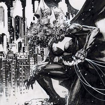 Jim Lee Draws Ryan Wilder Batwoman For Comic Shop Charity