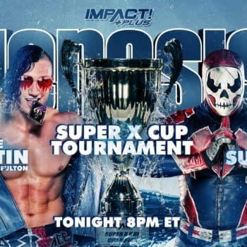 Match graphic for Ace Austin vs. Suicide at Impact Genesis