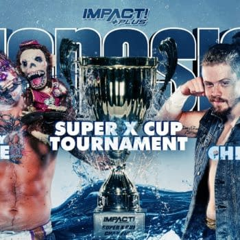 Match graphic for Crazzy Steve vs. Blake Christian at Impact Genesis