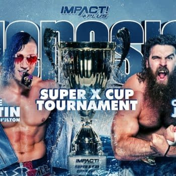 Match graphic for Ace Austin vs. Cousin Jake at Impact Genesis