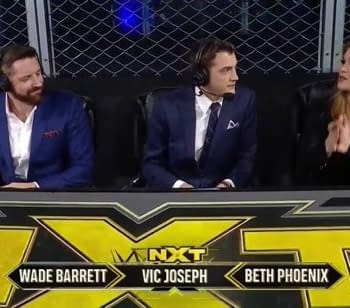 Updated Card for Next Weeks Episode of WWE NXT