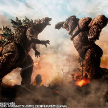 Godzilla vs. Kong Prepare for War With New S.H. MonsterArts Figures