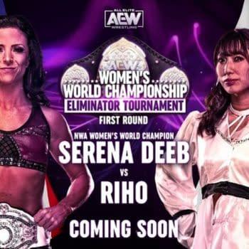 Former AEW Women's Champion Riho will return to face Serena Deeb in AEW's upcoming Womens World Championship Eliminator Tournament