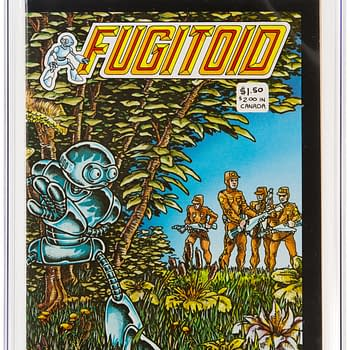 A Very Nice Fugitoid #1 From The Mirage Days Is On Auction At Heritage
