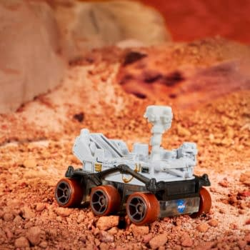 Hot Wheels and NASA Team Up To Release Mars Rover Vehicle
