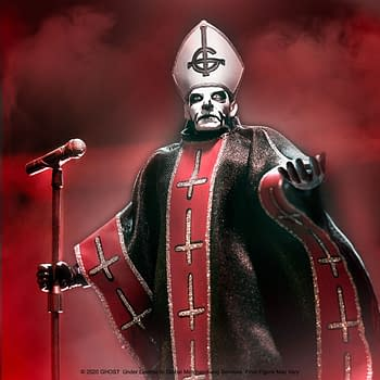 Ghost Front Man Papa Emeritus Gets His Own Super7 Ultimates Figure