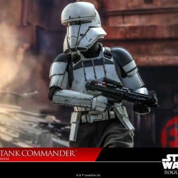 Star Wars Rogue One Assault Tank Commander Arrives at Hot Toys