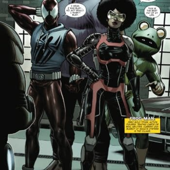 Return Of Frog-Man – And Scarlet Spider In This Week's Iron Man #5