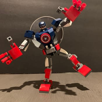 Lets Take A Look At The LEGO Captain America Mech Armor Set