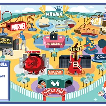 Funko Unveils 9 Days of Reveals With New  Funko Fair Map