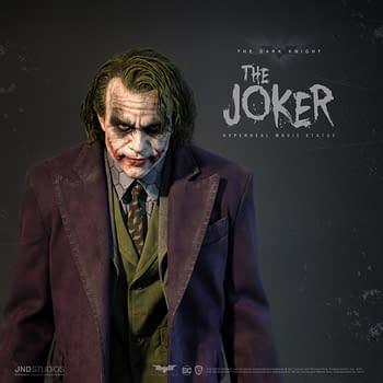 New Hyperreal The Joker Statue Coming From JND Studios