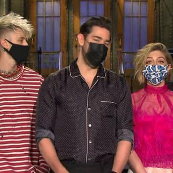 Saturday Night Live: John Krasinskis Reality Check Mama Machine Gun