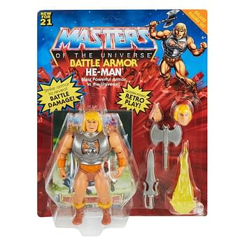 Masters of the Universe Figures Recieve General Release from Mattel