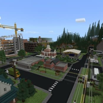 Minecraft Releases Sustainability City Map To Play