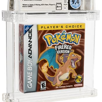 Pokémon Fire Red Sealed 9.4-Grade Copy On Auction At Heritage