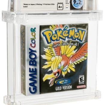 Pokémon Gold Wata A+ 9.2-Graded Copy On The Auction Block Now