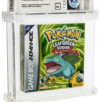 Pokémon Leaf Green Grade-9.6 Wata A+ Up For Auction At Heritage