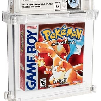 Pokémon Red Wata A+ 9.2-Graded Game Up For Auction At Heritage Now