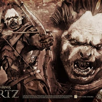 Lord of the Rings Uruk-hai Lurtz Wants Blood with Prime 1 Studio