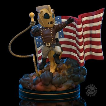 The Rocketeer Blasts Off With New Q-Fig Elite Statue From QMx