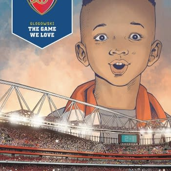 Arsenal Football Club Graphic Novel in Titan April 2021 Solicitations