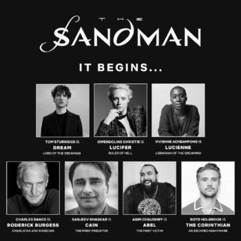 Neil Gaiman on Where to Start Sandman; Brief Delirium Casting Update